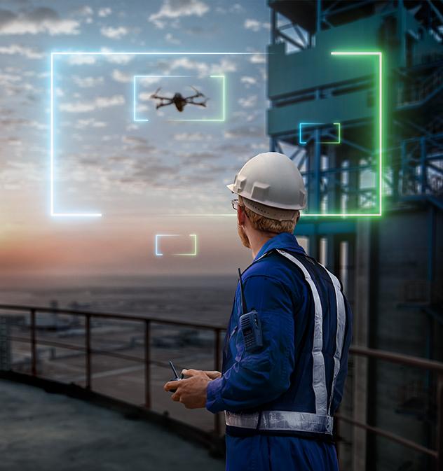polysius, digital cement plant, cement production, data analytics, smart cement plant, iot, predicitive maintenance, maintenance, drones