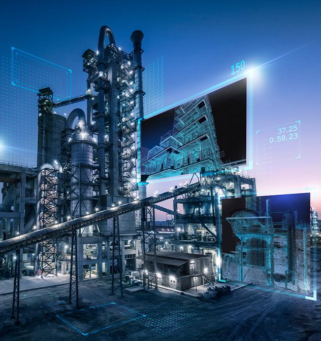 polysius, digital cement plant, cement production, data analytics, smart cement plant, iot
